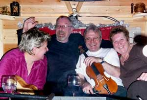 Aggie's in the reindeer hut
